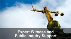 Expert Witness and Public Inquiry Support