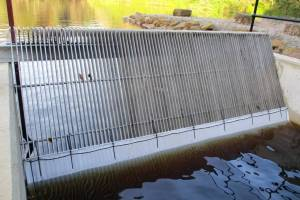 Howden Dam outlet screen
